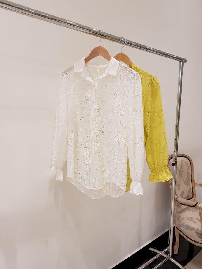 Camisa lese com elástico punho Salgu