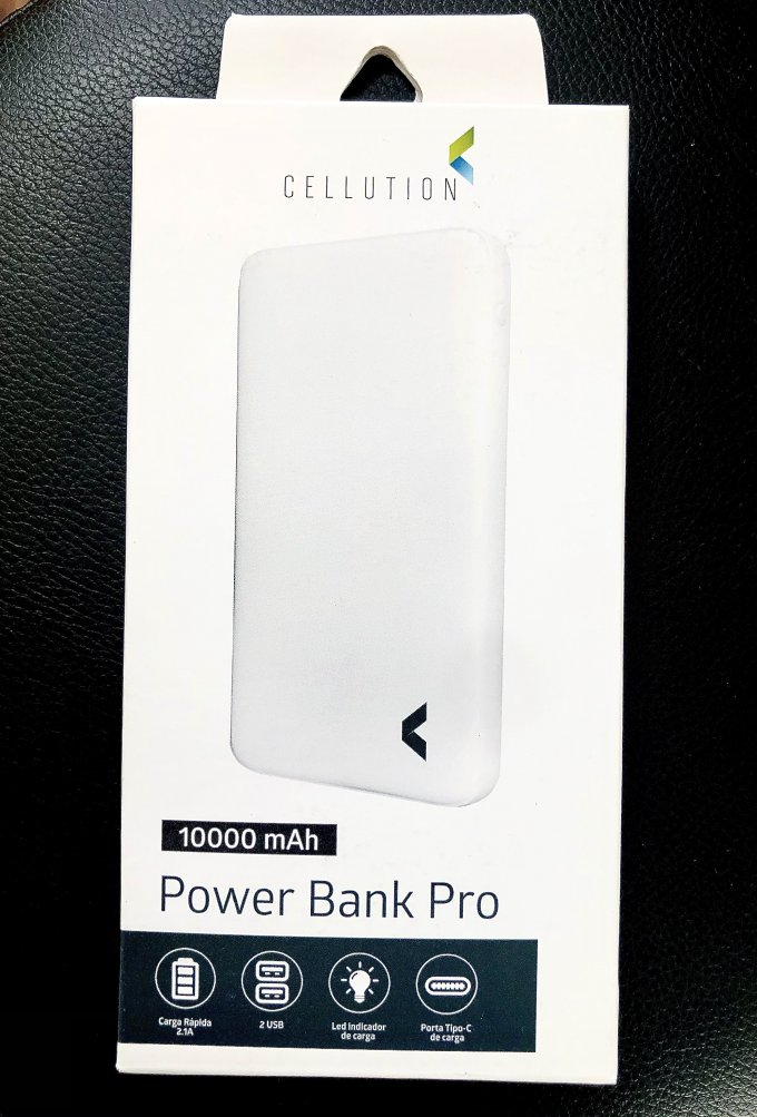 Power Bank Pro 10000 mAh CELLUTION