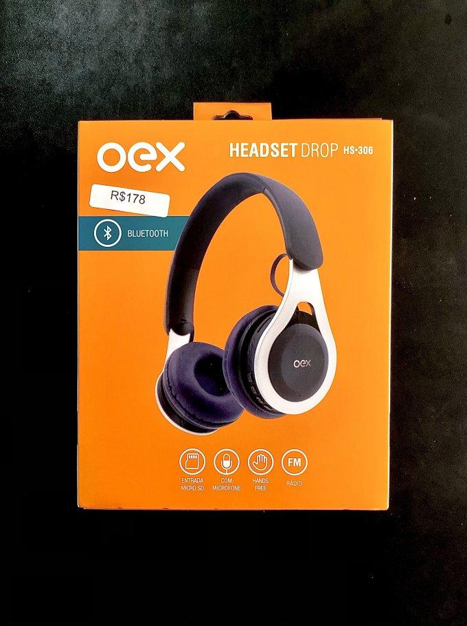 Headset Drop HS•306 Preto Oex