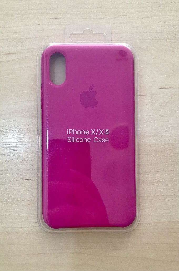 Silicone Case / iPhone X / Xs