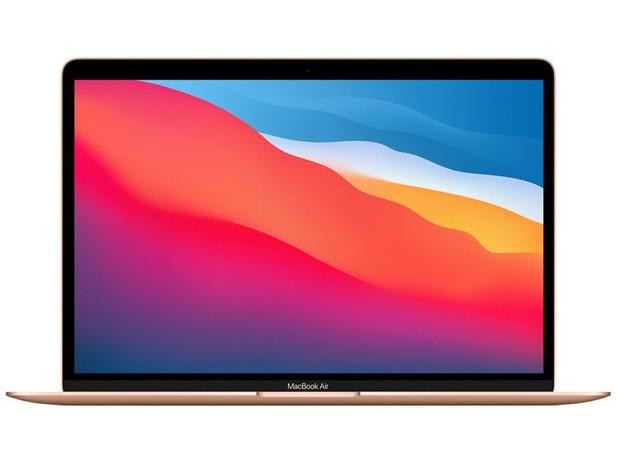 MacBook Air 13-inch: Apple M1 chip with 8‑core CPU/ 7‑core GPU/ 16‑core Neural Engine/ 8GB/ 256GB SSD/ Retina display with True Tone/ Magic Keyboard/ Touch ID/ Force Touch trackpad/ Two Thunderbolt / USB 4 ports