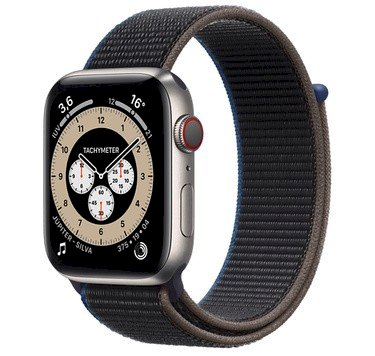 Apple Watch Série 6 44mm Preto